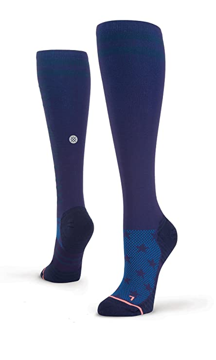 Stance Stark OTC Socks - Womens Navy Small