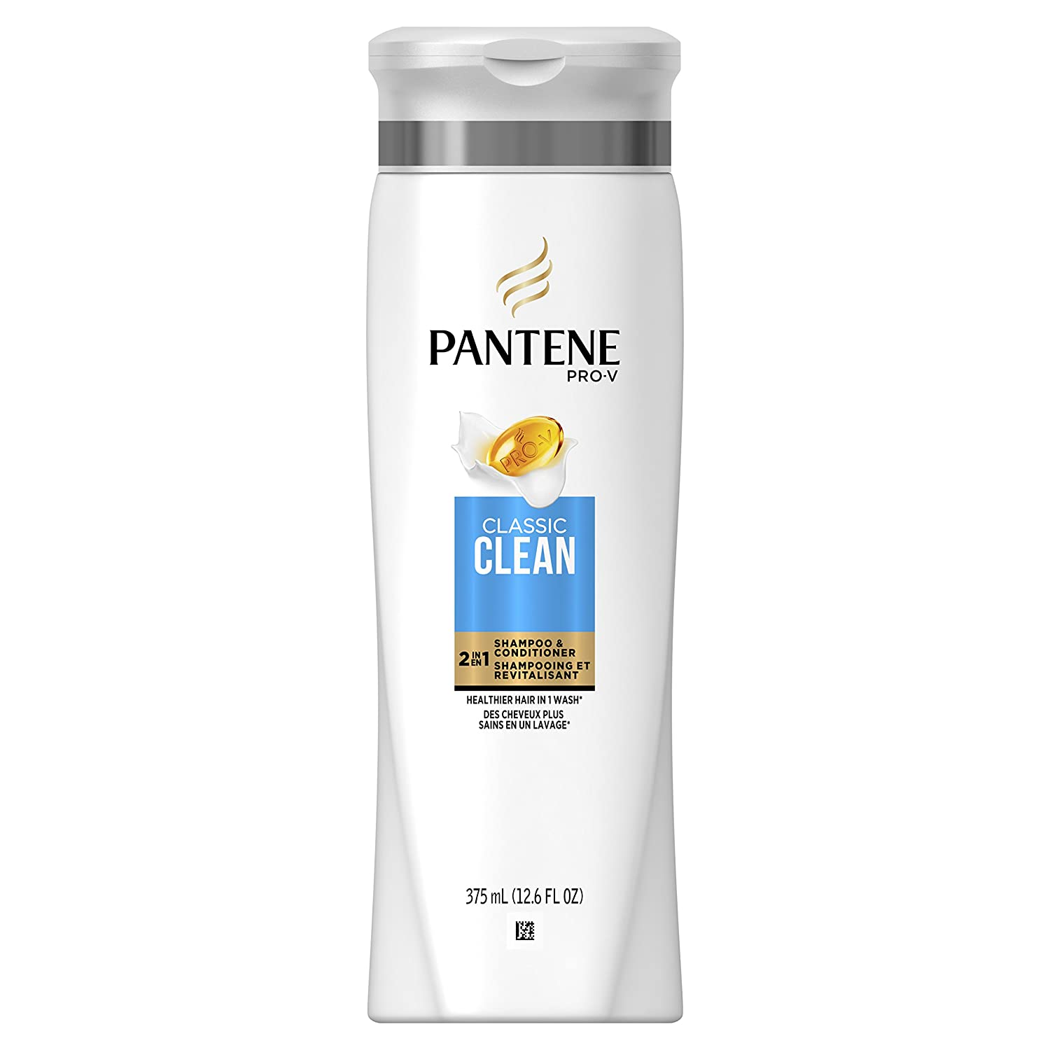 Pantene Pro-V Classic Clean Shampoo, 375 mL, packaging may vary
