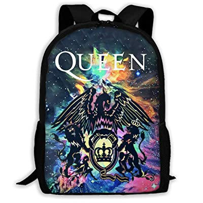 Queen Rock Band Freddie Mercury Teen Boys Girls Backpack Big Boys Girls Bookbag Travel Outdoor Daypack | Kids' Backpacks
