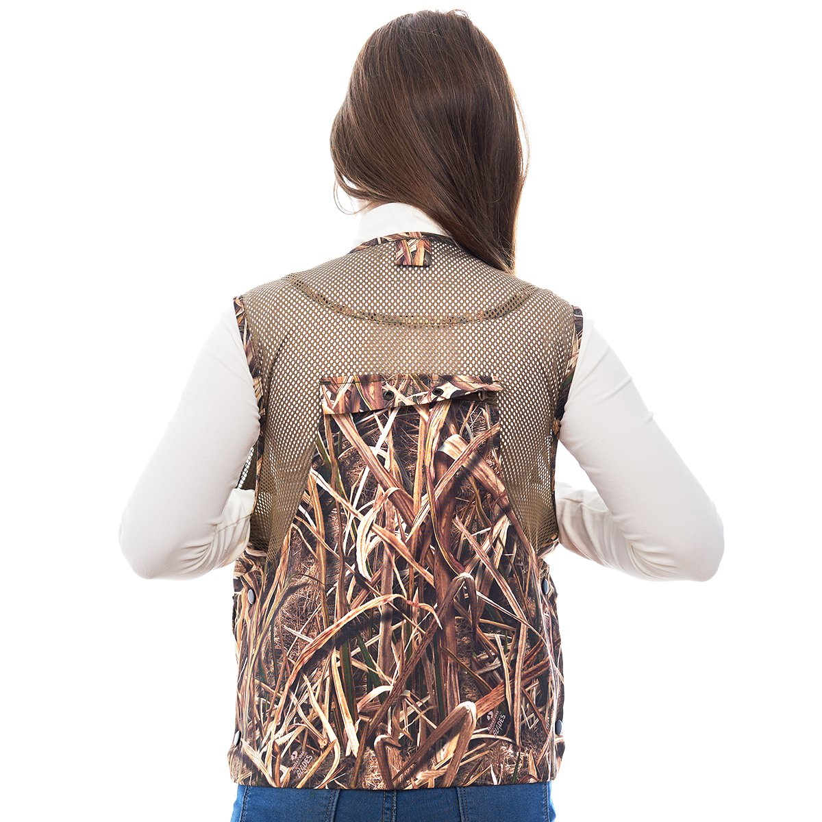 TrailCrest Kids Mossy Oak Deluxe Front Loader Hunting Vest, Medium, Shadow Grass by TrailCrest (Image #3)