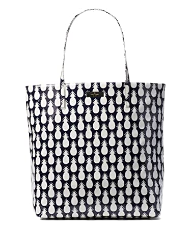 3ded76da573d Amazon.com: Kate Spade New York Pineapple Daycation Bon Shopper Tote