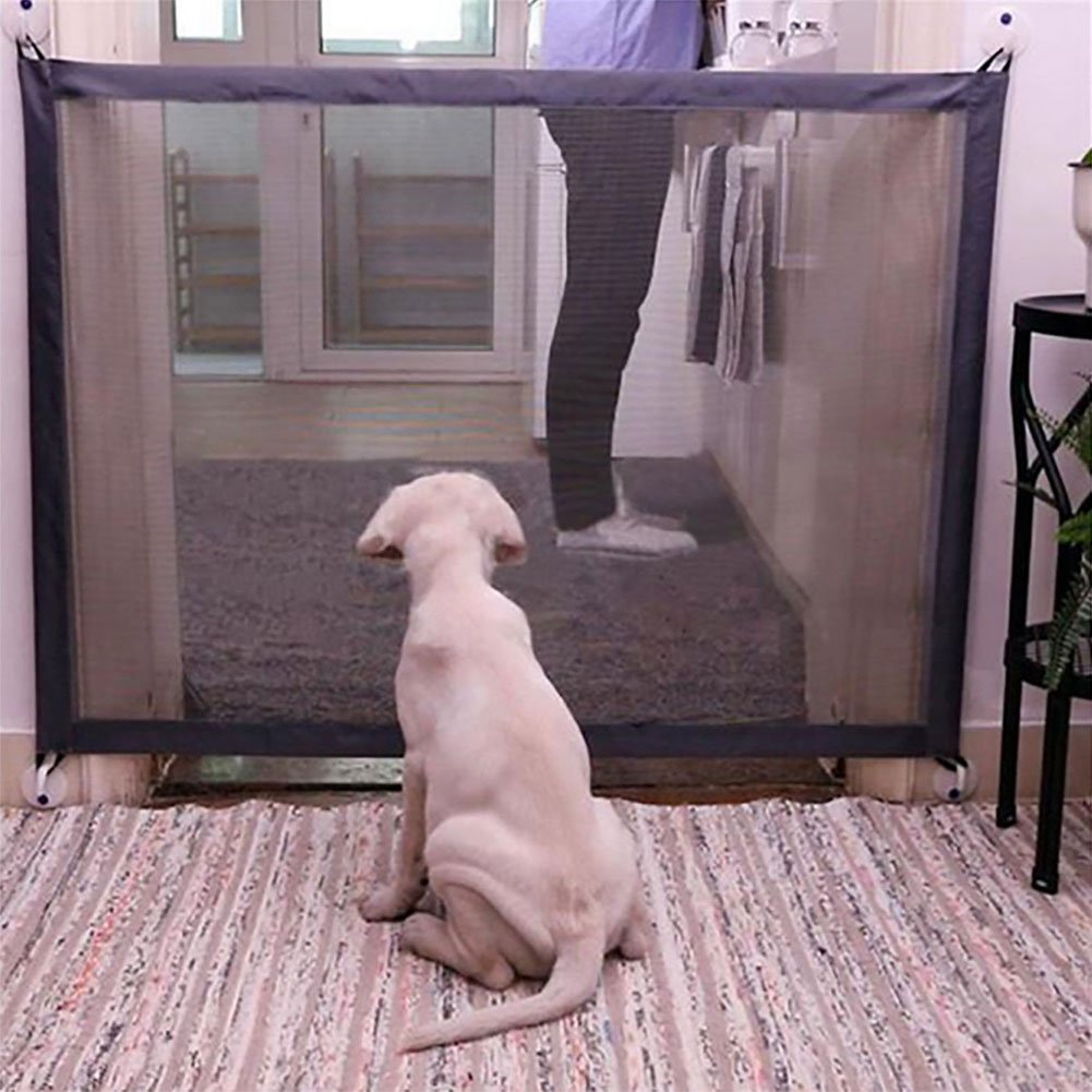 quanjucheer Puerta de Seguridad para Mascotas, Mágica, Malla Protectora de Seguridad para Perros y Gatos: Amazon.es: Productos para mascotas