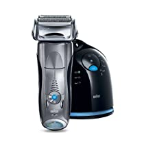 Braun Series 7 790cc-4 Electric Foil Shaver with Clean and Charge Station