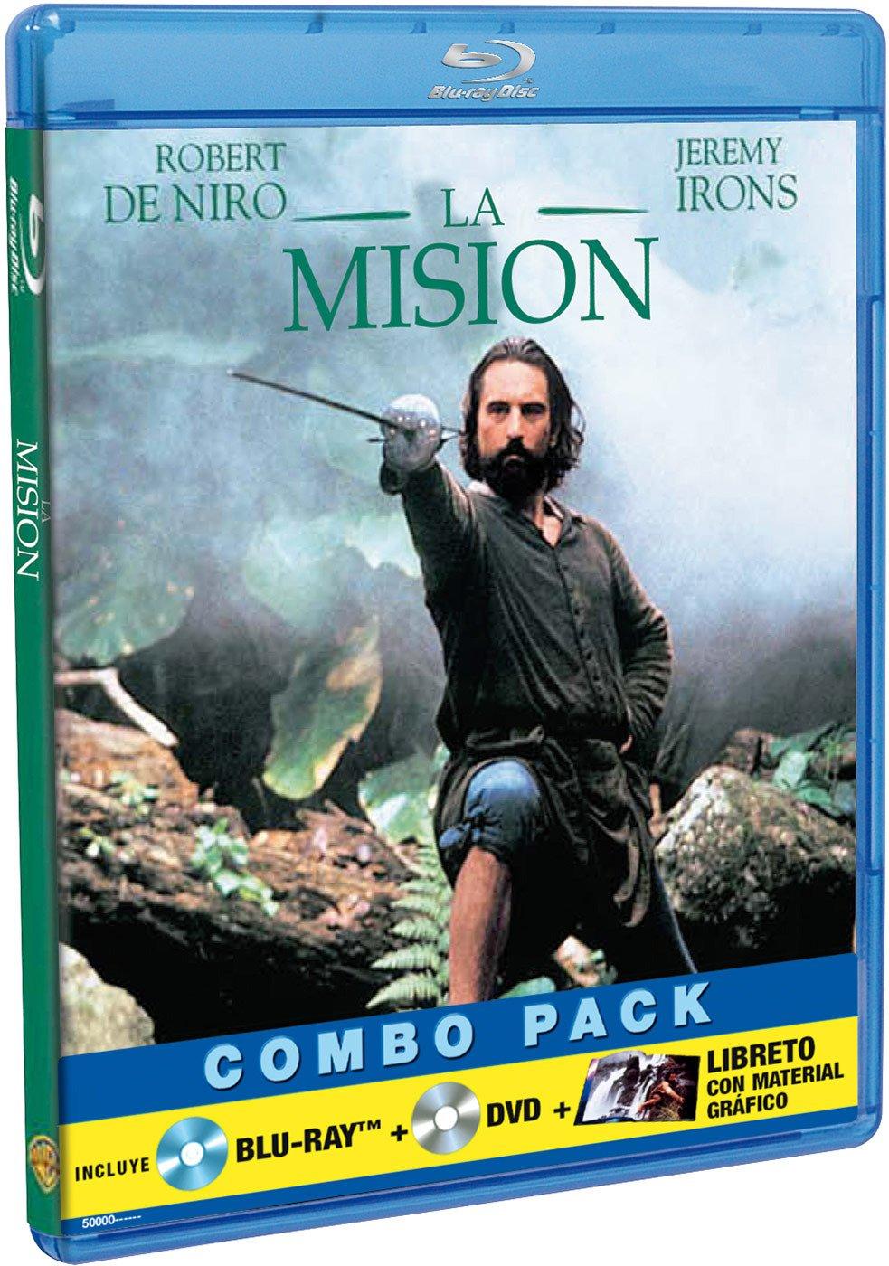 La Misión (BD + DVD) [Blu-ray]: Amazon.es: Robert De Niro, Jeremy Irons, Ray McAnally, Aidan Quinn, Cherie Lunghi, Ronald Pickup, Chuck Low, Liam Neeson, Bercelio Moya, Roland Joffé, Robert De Niro, Jeremy
