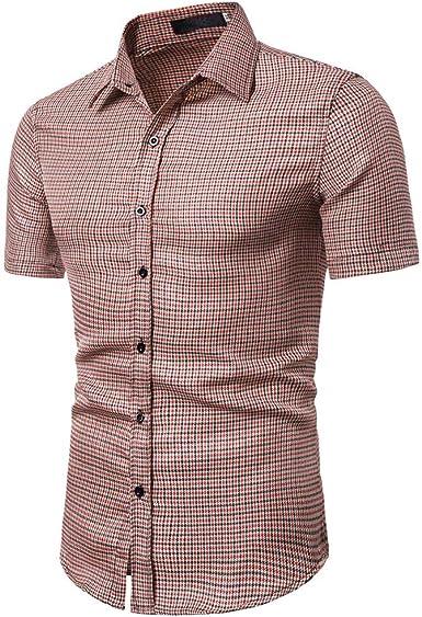 Trisee - Camisa de Manga Corta para Hombre, diseño de sandía ...