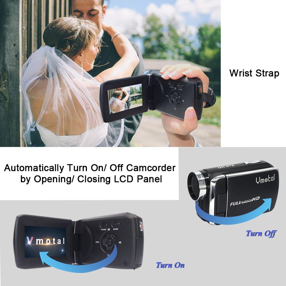 GDV5250 Digitale Videokamera 1080P Full HD DV Camcorder: Amazon.de ...