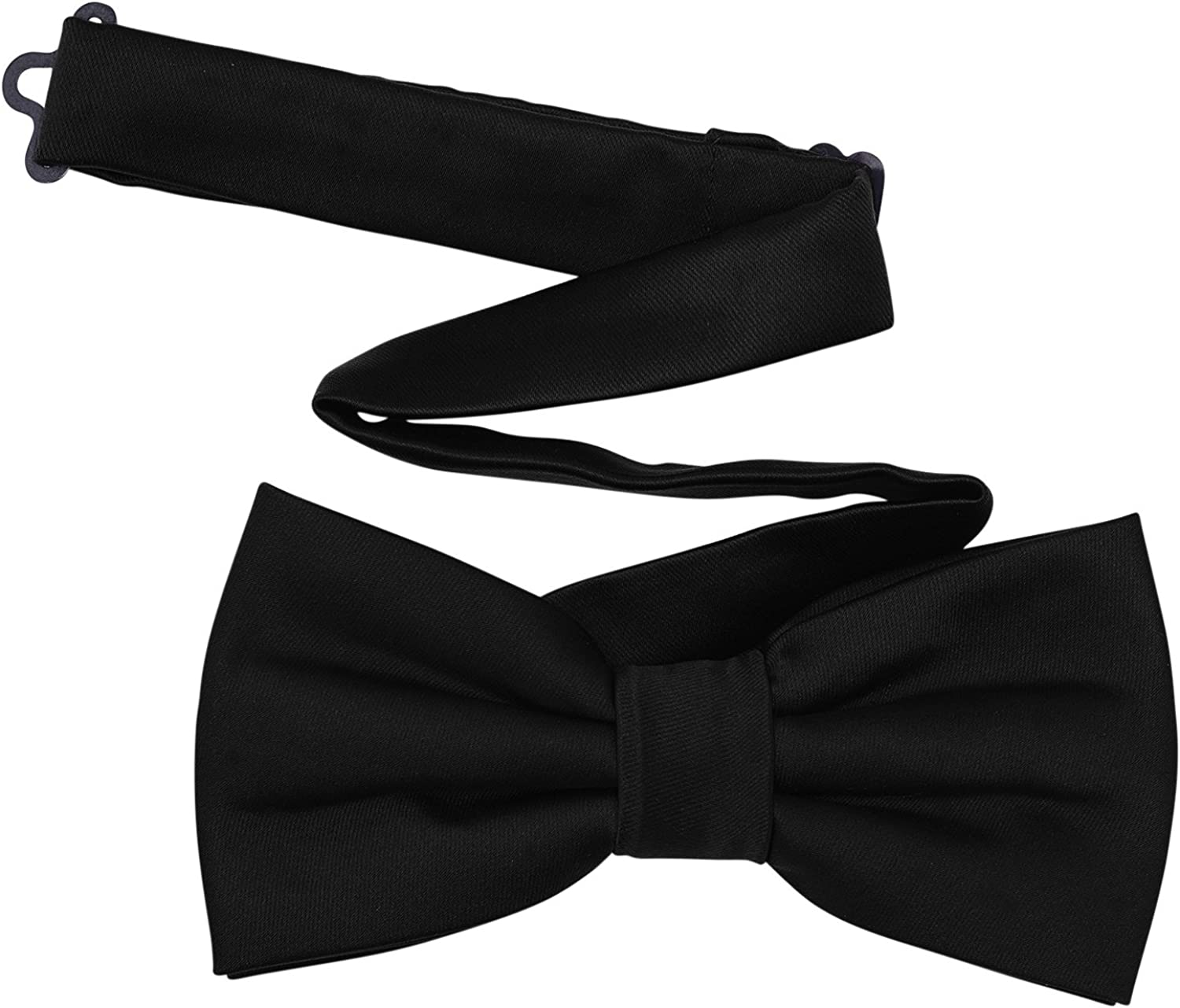 Boys Formal Pre-Tied Durable Polyester Satin Bowties for Party Wedding Festival