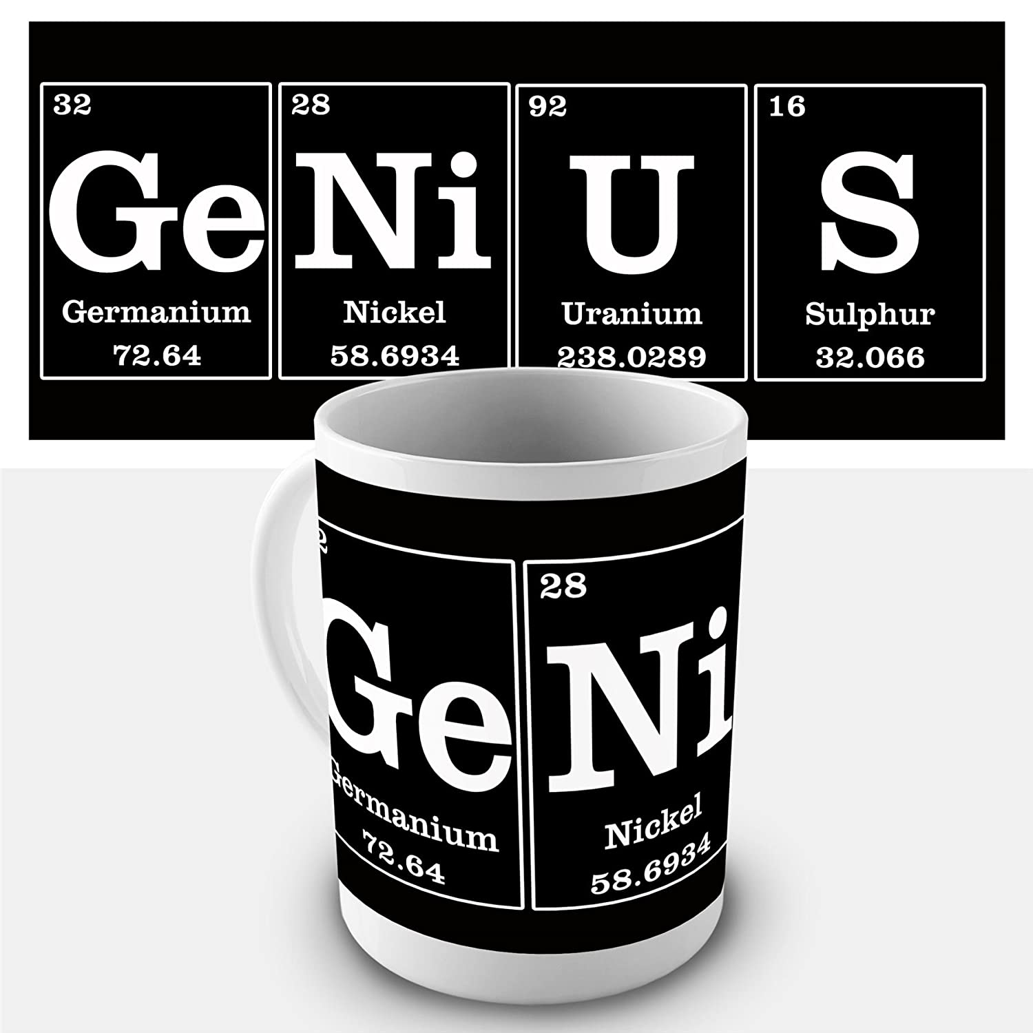 Amazon GeNiUS Elements Coffee Mug Kitchen & Dining