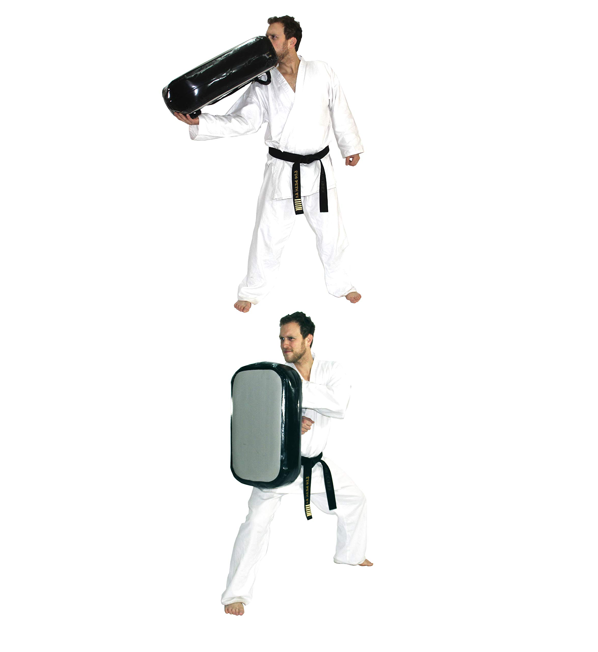 Si-Pad: Inflatable Kicking Shield. Super strong, airtight and durable. Perfect for the most powerful strikes in all martial arts: Taekwondo Karate Kung Fu Traveling Teams small schools mobile teachers by Si-Pad
