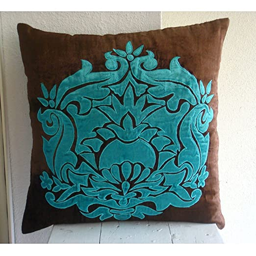 Applique Damask - Decorativa Funda de Cojin 30 x 30 cm ...