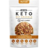 NuTrail™ - Keto Nut Granola Healthy Breakfast Cereal - Low Carb Snacks & Food - 2g Net Carbs - Almonds, Pecans, Coconut and m
