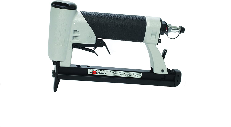 "Spotnails JS7116LN 22 Gauge 3//8/"" Crown Upholstery Long Nose Stapler"