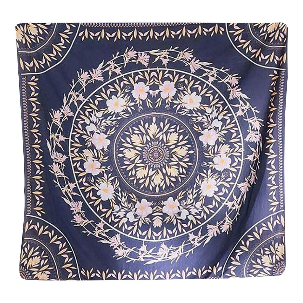 Weiliru Large Bless International Indian Hippie Bohemian Psychedelic Mandala Wall Hanging Bedding Tapestry Indian Traditional Magical Thinking Bedspread