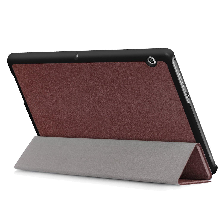 Xuanbeier Ultra Sottile Custodia e Leggera PU Case Cover per Huawei Mediapad T3 10 Tablet 9.6 Pollice Modello 2017,Graffiti