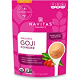 Navitas Organics Goji Powder, 8 oz. Bag, 25 Servings — Organic, Non-GMO, Sun-Dried, Sulfite-Free