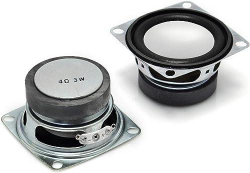 Gikfun 2 4Ohm 3W Full Range Audio Speaker Stereo Woofer Loudspeaker for Arduino Pack of 2pcs EK1725