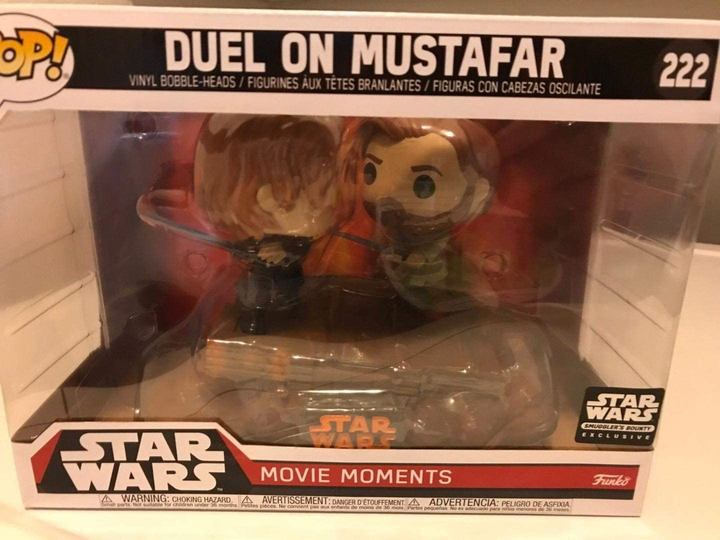 Amazon Com Funko Pop Star Wars Smuggler S Bounty Revenge Of The Sith Movie Moments Duel On Mustafar Mystery Mini Darth Sidious More Toys Games