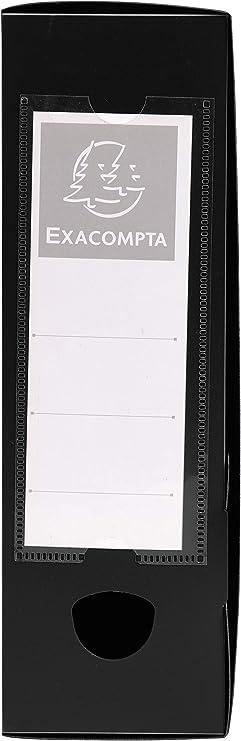 Nero 24x32 cm Exacompta 59831E Scatole Archivio