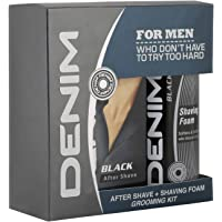 Denim After Shave Lotion And Shaving Foam Combo Pack For Men, 100 ml