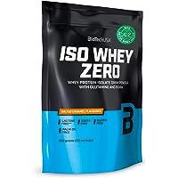 BioTechUSA Iso Whey ZERO, Lactose, Gluten, Sugar FREE, Premium Whey Protein Isolate, 500 g, Salted Caramel