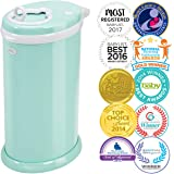Ubbi Money Saving, No Special Bag Required, Steel Odor Locking Diaper Pail, Mint