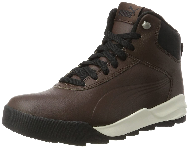 Puma Unisex-Erwachsene Desierto Sneaker L Hohe  44 EU|Braun (Chocolate Brown-chocolate Brown)