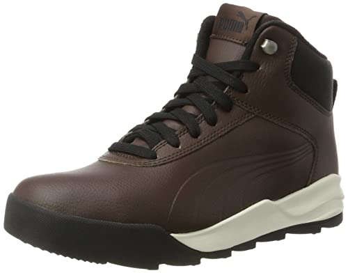 Puma Desierto Sneaker L, Scarpe da Ginnastica Basse Unisex-Adulto, Marrone (Chocolate Brown-Chocolate Brown), 38 EU