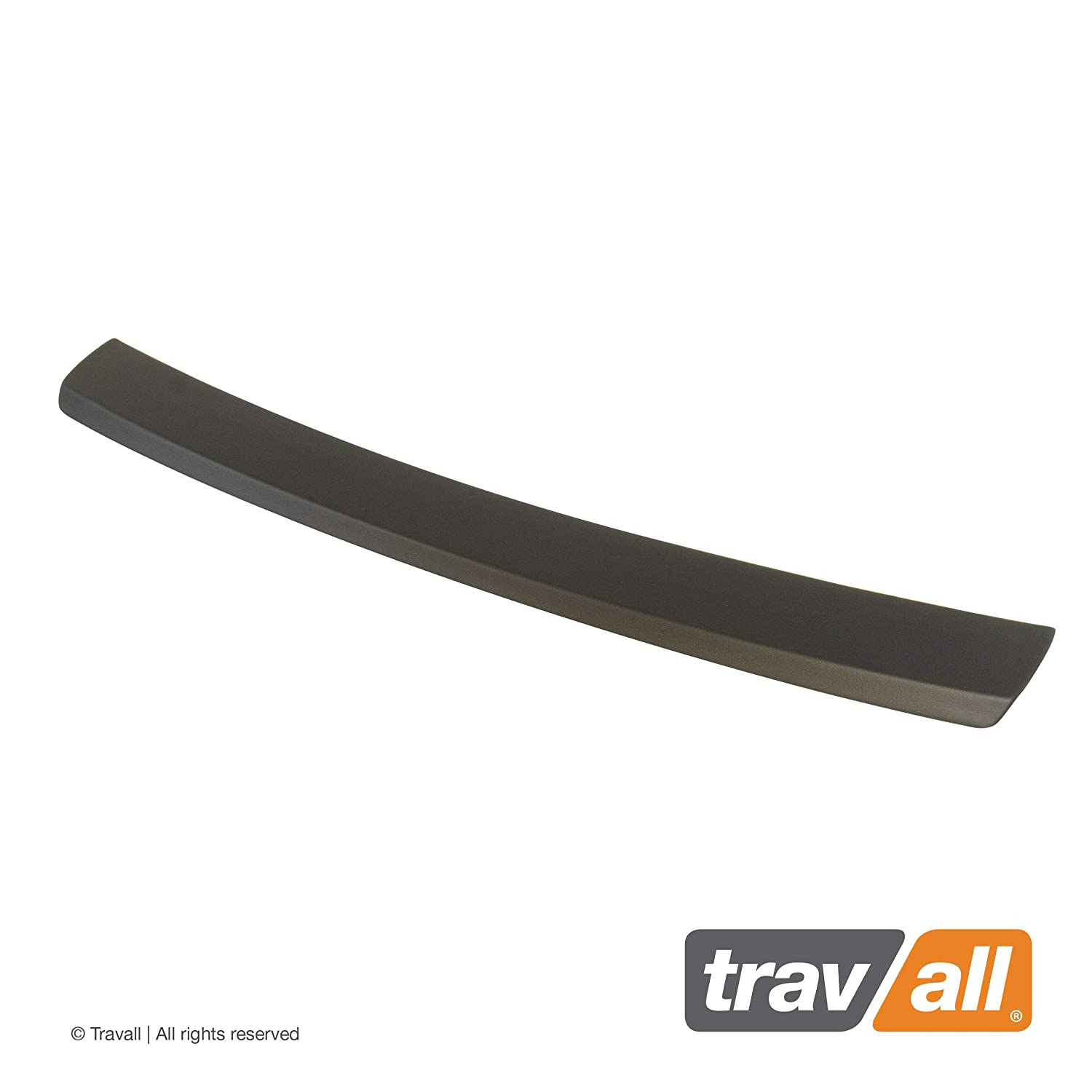 Smooth Vehicle-Specific Black Plastic Moulded Rear Bumper Protector Travall Protector TBP1033P