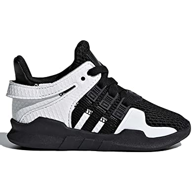 f3f2834844f Amazon.com | adidas EQT Support ADV I Kids Black/White CQ2571 | Sneakers