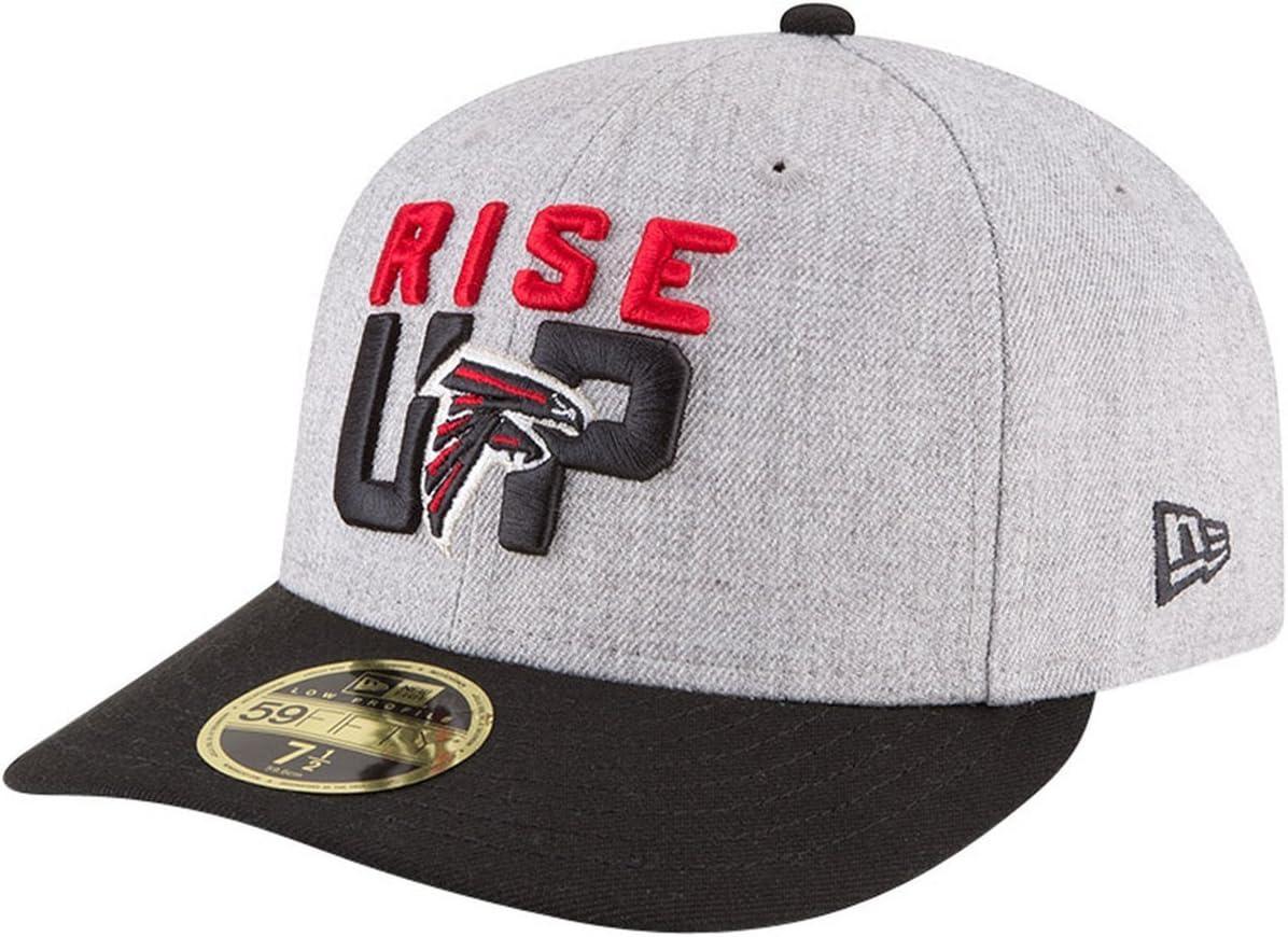 NFL DRAFT Atlanta Falcons New Era 59Fifty Low Profile Cap