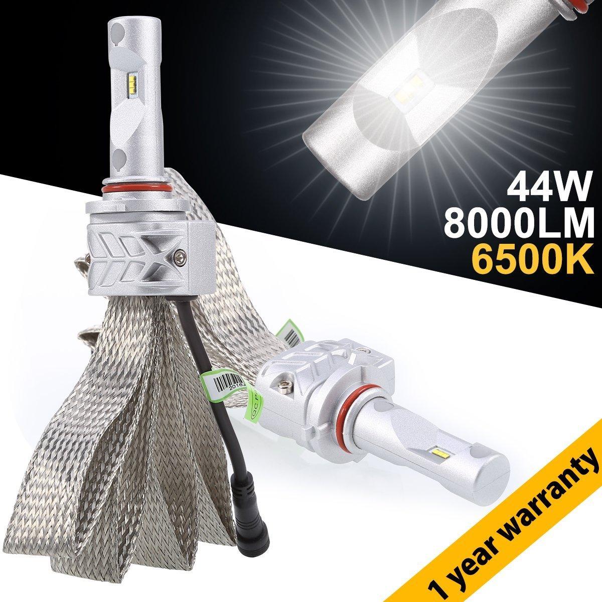 LED Faros Delanteros GreenClick 2pcs H7 LED Bombillas para Coche Impermeable IP65 6500K - 3 Años de Garantía: Amazon.es: Deportes y aire libre