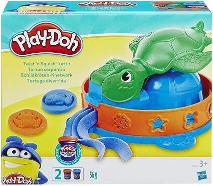 Hasbro Play-Doh Twist n Squish Turtle Playset A0653