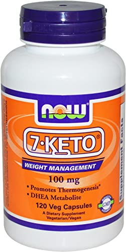 7-Keto 100mg 120 VegiCaps Pack of 2