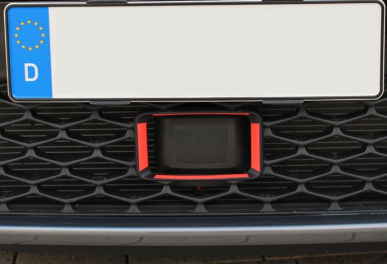 Seat Radar marcado de Finest-Folia NEON rojo adecuado para ...