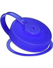 Nalgene Lid Wide Mouth Loop-Top Water Bottle, Blue
