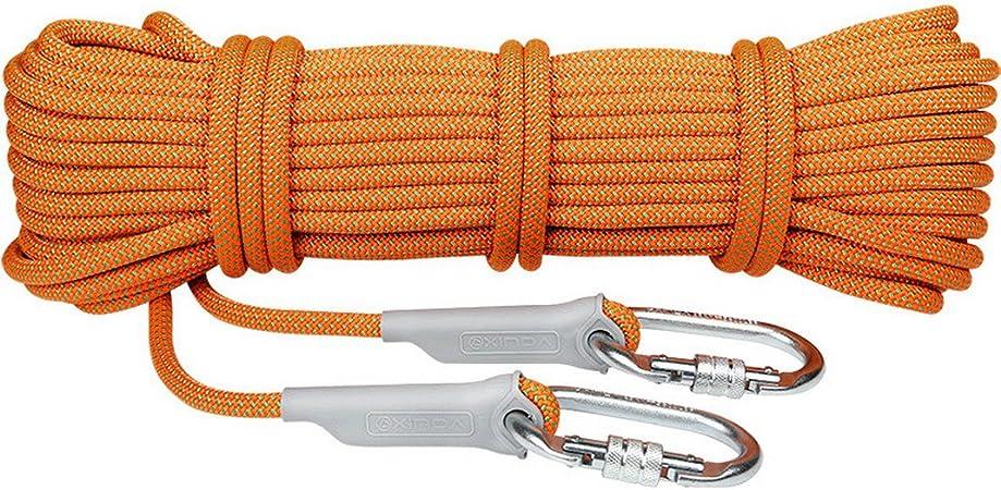 AOOPOO Cuerdas cordelettes Escalada Cuerda de Paracaídas 10 m ...