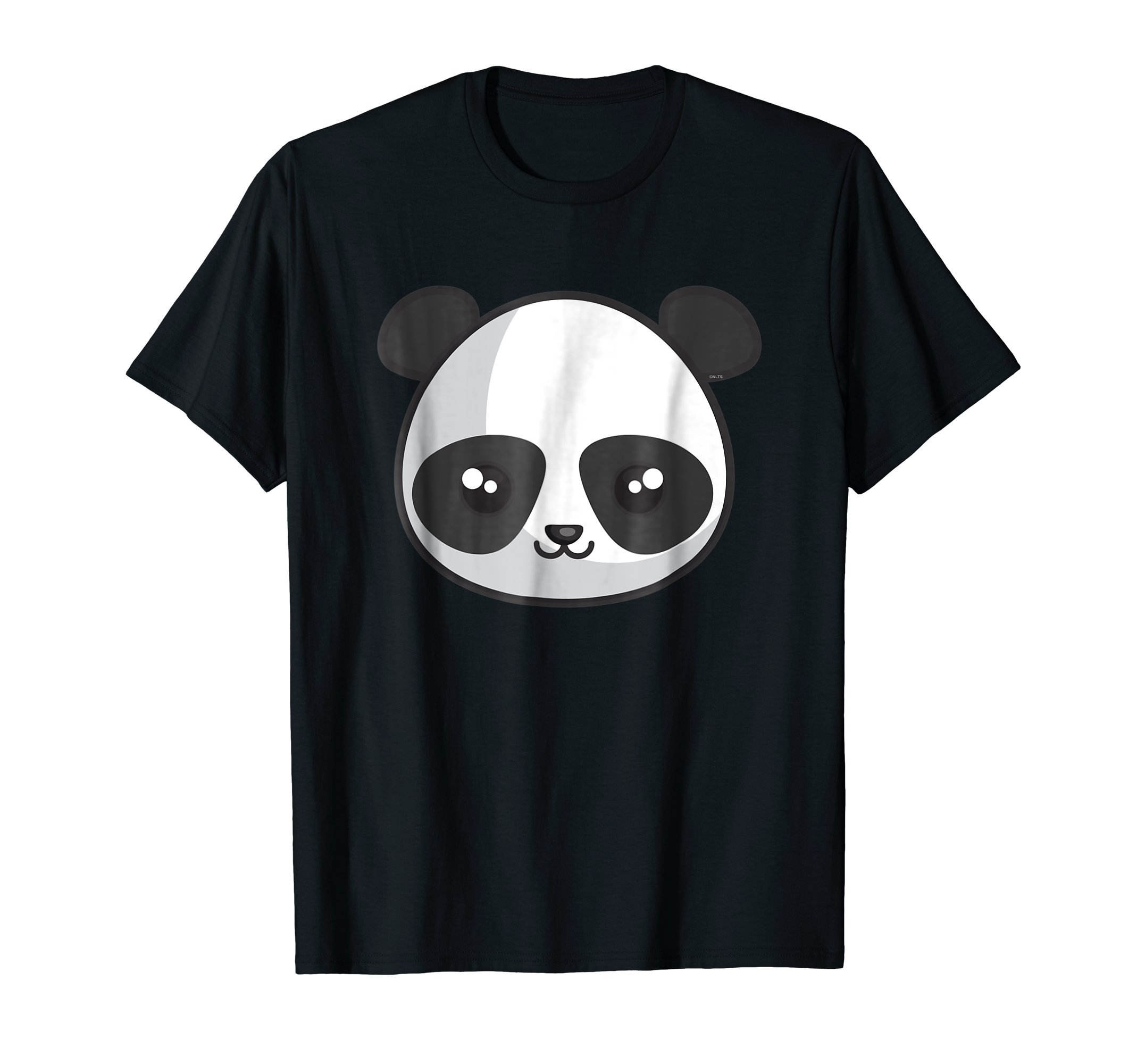 Panda-Face-Halloween-Fun-costume-T-Shirt-Tee-Gift
