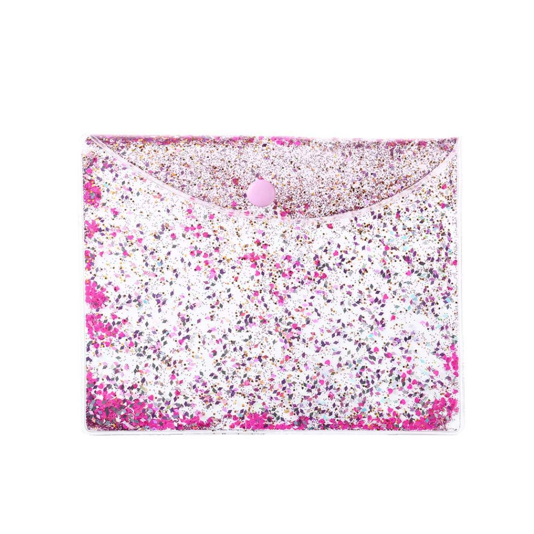 YJYdada Women Bag Travel Cosmetic Bag Makeup Case Pouch Toiletry Best Transparent Wallet (C)