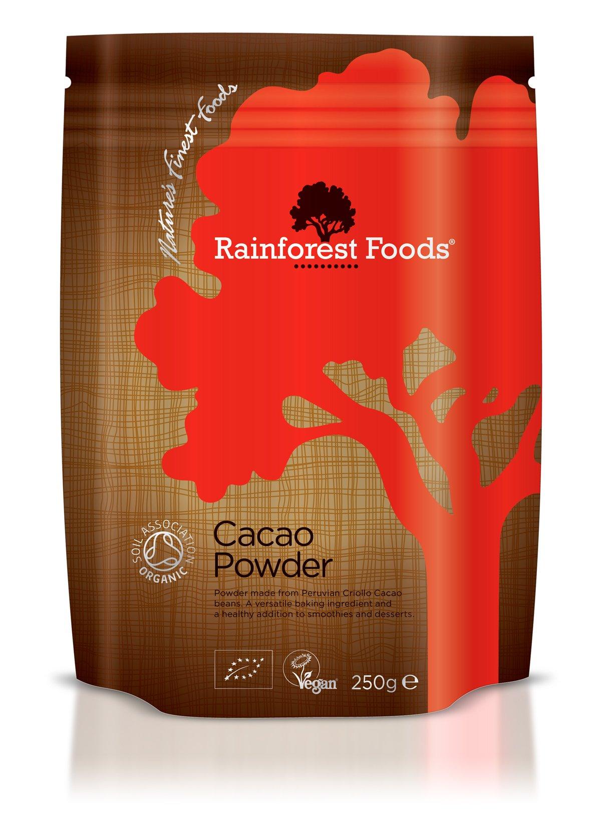 Rainforest Foods Organic Cacao Powder 250g