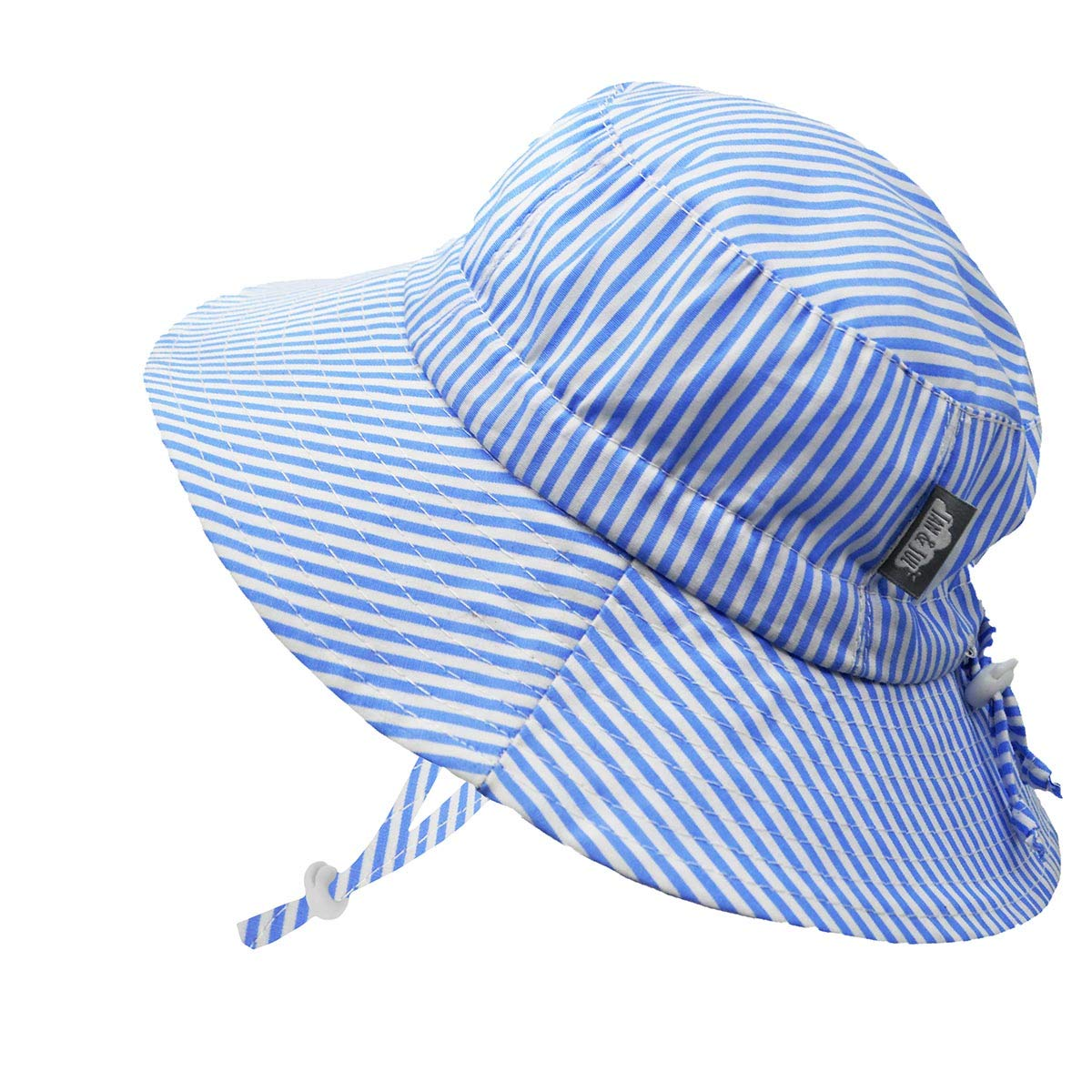 Adjustable for Growth Jan /& Jul Baby Toddler Kids Breathable Cotton Bucket Sun-Hat 50 UPF Stay-on