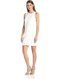 ab797dd56c6 Amazon.com  London Times Women s Plus Size Sleeveless Fit   Flare ...