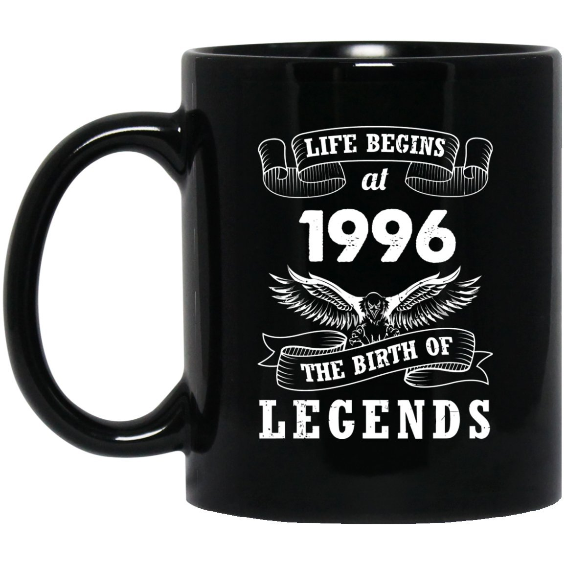 22nd Birthday Mug Gift For Dad Mom Life Begins At 1996 The Birth Of Legends Gifts Idea Best Friend