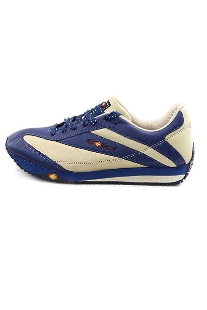 buy online 8ddbe 51ec7 Energie Vintage Leather Sneakers MOD. Marlown Color Blue ...