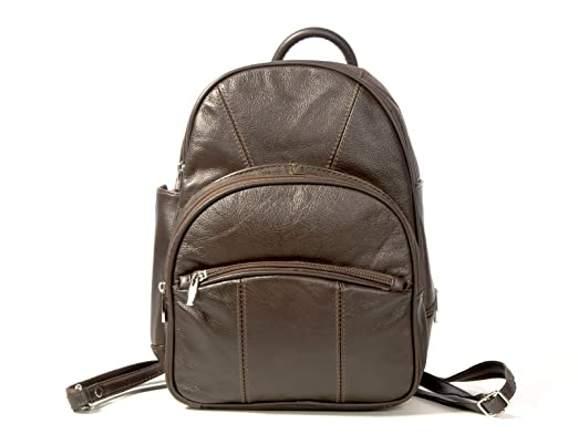 Amazon.com | Goson Genuine Leather Mini Backpack Handbag/Purse ...