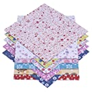 72 Sheets Origami Paper 15 x 15 cm in 12 Different Colours and Patterns