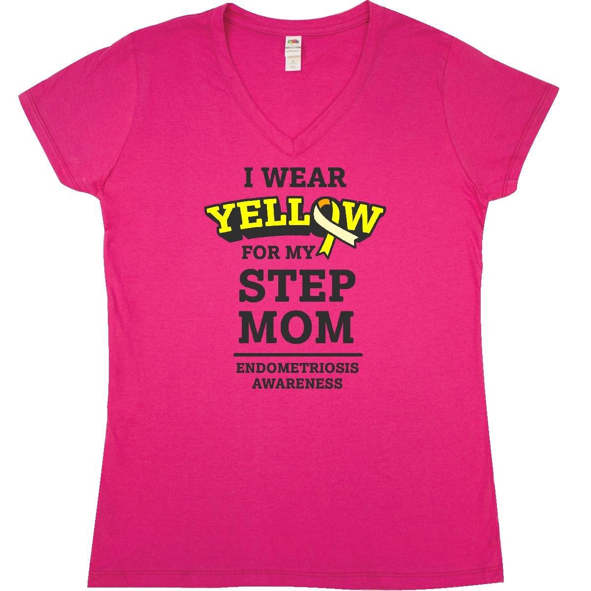 inktastic I Wear Yellow for My Mom Endometriosis Awareness Baby T-Shirt