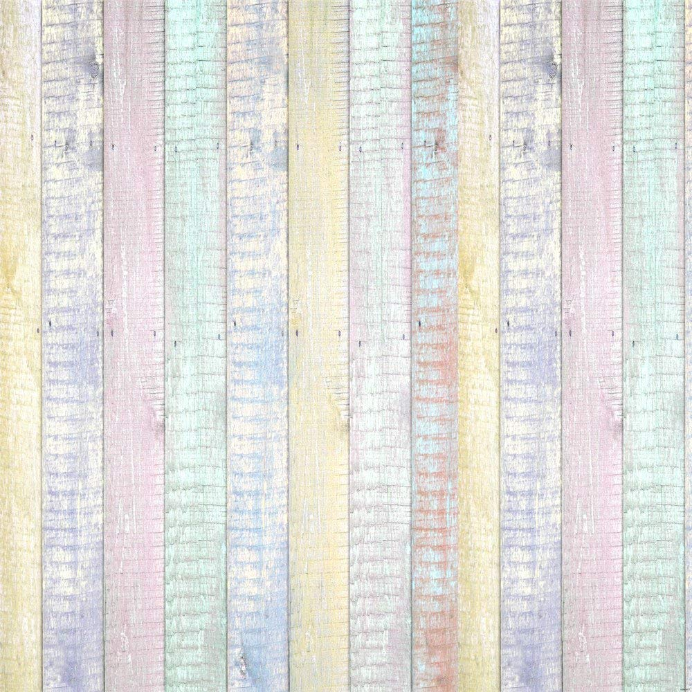 Kate 10x10ft Wood Fence Backgrounds for Photographer Easter Photography Backdrops Colorful Texture Backdrop Photo Booth by Kate (Image #4)