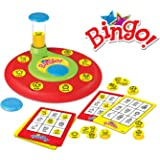 PinSpace Bingo Game Board Games, Words Number Learning Reading Matching Spelling Memory Math Games Preschool Kindergarten Pre-Readers and Early Readers Educational Toys for Kids Age 4 Year and Up