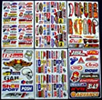 "6 Sheets "" Motorcross stickers "" AZK..."