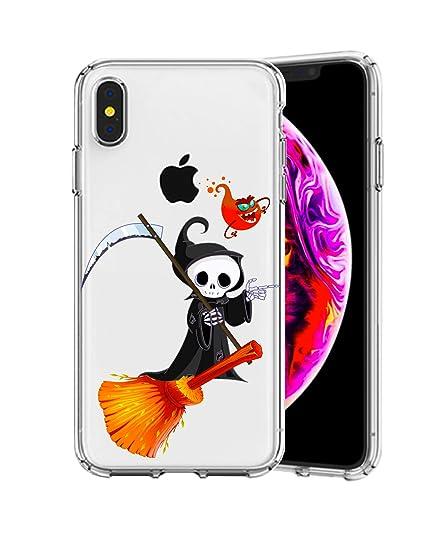 Amazon Com Iphone Xs Max Case Halloween Element Devil On